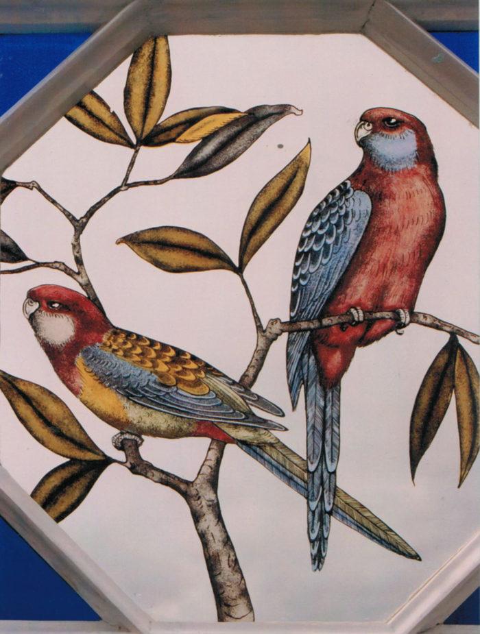 Octagonal Bird Window